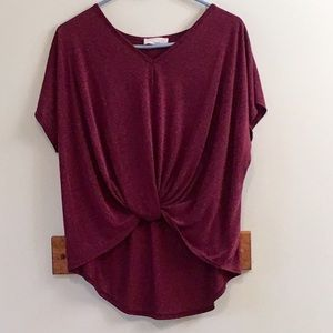 Anthropologie Lavender Field Sz Small blouse